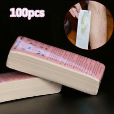 100pcs Lot Depilatory Wax Strips Non-Woven Hair Removal Paper Epilator Tools Wax