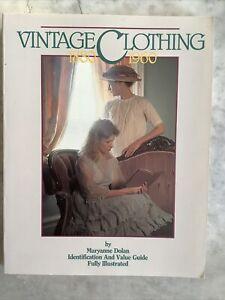 VINTAGE CLOTHING 1880-1960 Maryanne Dolan