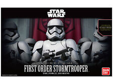Star Wars First Order Stormtrooper (Force Awakens) 1/12 scale model by Bandai