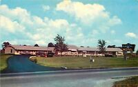 Whiteland Indiana~Wishing Well Motel~Neon Sign~1950s Cars~Postcard