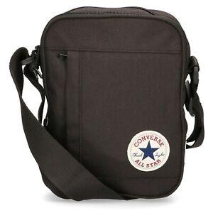 Converse Poly Cross Body Bag - Black - RRP £20