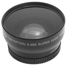 52mm 0.45X Super Wide Angle Macro Lens Fisheye for Nikon D3200 D3100 D5100 D5200