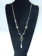 PENDANT NECKLACE 32 IN. LENGTH MATCHING EARRINGS