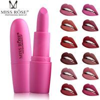 20 Colors Women Bullet Lipstick Matte Moisturizing Long Lasting Lip Gloss Makeup