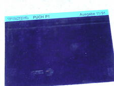 Microfich Ersatzteilkatalog Ersatzteilliste Puch P1 L XL 2-Gang Mofa 11/91