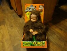 "1992 TIGER TOYS-- LAND OF THE LOST--16"" STINK THE MONKEY BOY PLUSH DOLL (NEW)"