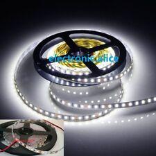 New 16Ft 5M  White 120LED/M SMD 2835 600LEDs Strip DC12V Super Bright PCB 8MM