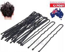 50x U Shape Hair Pins Bobby 5cm Clip Style Bun Maker Womens Girls Dancing Tool