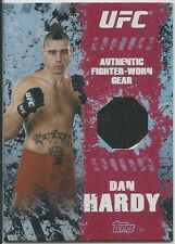 Dan Hardy 2010 Topps UFC Main Event Fighter Relics Card # FRDH