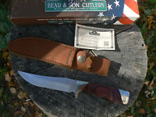NUOVO Bear & Son Coltello BC277R Trophy Hunter caccia knife messer