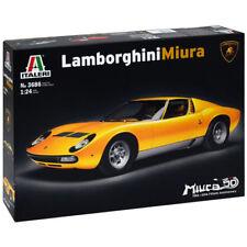 Italeri 3686 Lamborghini Miura 1:24 Car Model Kit