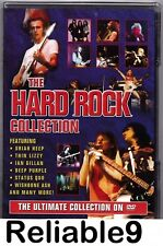 Ian Gillan+Urian Heep+Thin Lizzy+Hawkwind-The Hard Rock Collection DVD Sealed EU