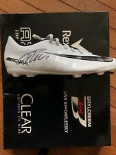 CRISTIANO RONALDO SIGNED NIKE CR7 SOCCER CLEAT - RIGHT SHOE ONLY