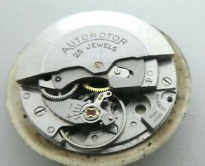 Vintage  PUW 1260  Automatic 25 JEWELS  Watch movement for part  (E 35)