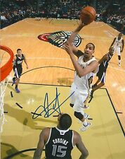 ALEXIS AJINCA signed NEW ORLEANS PELICANS 8X10 PHOTO COA D