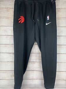 NBA Auth. Nike Therma Flex Toronto Raptors Player Issued  Pants 3XL AA5260-010