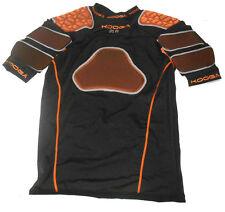Kooga IPS VII Black Orange Senior Rugby Protective Top