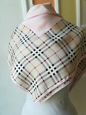 Burberry foulard scarf 100% seta 428adae82b3