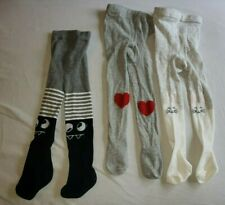 Baby tights Set Lot 12-24 m 3 Pair Holiday Halloween Monster Valentine Easter