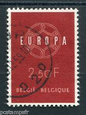 BELGIQUE 1959, timbre 1111, EUROPA, oblitéré, VF stamp