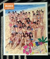 AKB48 Kaigai Ryokou Nikki Hawaii wa Hawaii Mayu Watanabe Photo Set of 20 DVD New
