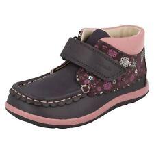 Scarpe Stivali in pelle grigia per bambine dai 2 ai 16 anni