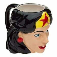 Wonder Woman Sculpted Ceramic Coffee Mug DC Comics Officially Licensed