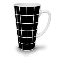 Square Stylish NEW White Tea Coffee Latte Mug 12 17 oz | Wellcoda
