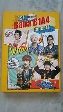 B1A4 1st Concert : Baba B1A4 In Seoul 3DVD +148p Photobook +5p Poster (On Pack)
