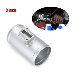 "3"" Air Flow Sensor Mount High Performance Air Intake Meter Adapter Aluminium 1PC"