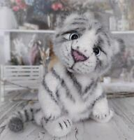 Crochet adorable tiger cub