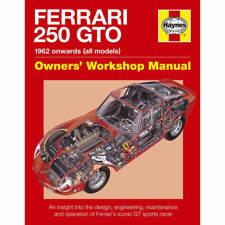 Ferrari 250 GTO 1962-Onwards Owners Workshop Manual by Haynes