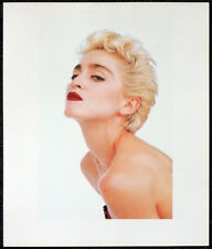 MADONNA POSTER PAGE . LIKE A VIRGIN WHO'S THAT GIRL . T115