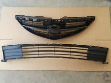 fits 2009-2013 MAZDA 6 Front Bumper Upper & Lower Grille PAIR 2pcs NEW