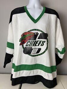 Elmhurst Chiefs Hockey Bakka Jersey Mens sz L
