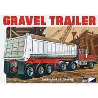 MPC 3 Axle Gravel Trailer 1:25 scale model kit new 823