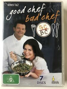 Good Chef Bad Chef : Complete Series 1 & 2 (DVD) ALL Regions- NEW SEALED RARE