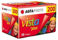 Agfa Vista Plus 200 35mm Colour Film 36 Exp
