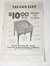 THE COIN SLOT Antique Gaming and Slot Trade magazine July 1975