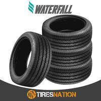 (4) New Waterfall Eco Dynamic 225/55R17 101W XL Tires