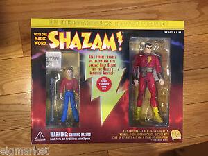DC Direct SHAZAM & BILLY BATSON Deluxe Figure Set NEW Sealed