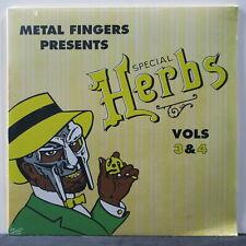MF DOOM 'Special Herbs 3&4' Vinyl 2LP NEW/SEALED