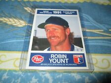 1991 POST/ 21 ROBIN YOUNT MILWAUKEE BREWERS