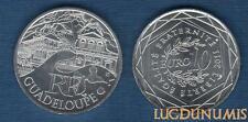 10 Euro Série des Régions 2011 Guadeloupe Monuments Argent SUP