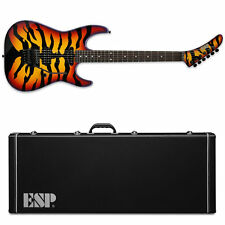 ESP George Lynch FR Sunburst Tiger Graphic STG Guitar NEW w/ Hardshell Case