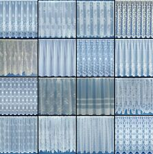 """40"""" / 101cm Drop White Super Value Window Net Curtain Voiles - Sold By The Metre"""