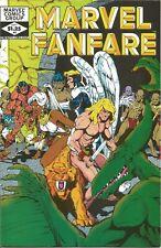 Marvel Fanfare #4 Marvel Comic 1982 (FN-VF) C121