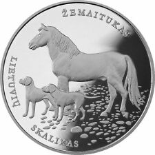 LITHUANIA 1.50 Eur Commemorative Coin (2017) Hound and Zemaitukas Cu/Ni UNC