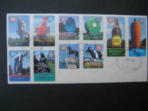 Neuseeland Gebraucht SET-1998 Stadt Ikonen Sg 2196b