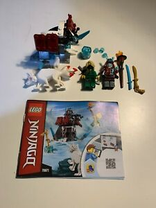 LEGO Ninjago Secrets Set 70671 Lloyd's Journey 100% COMPLETE SET Wolf Akita